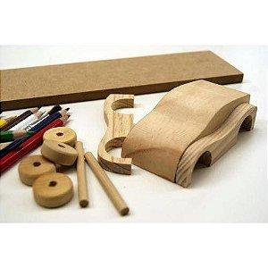 Tunados Esportivo - Brinquedo Educativo - Construir E Pintar - Mitra