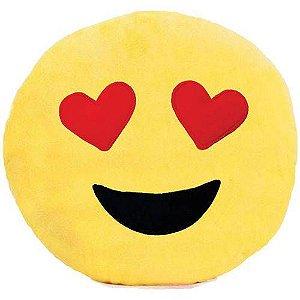 Almofada Pelúcia Emoticon Love 30cm. Soft Toys