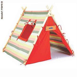 Barraca Listrada Acampamento NewArt Toys