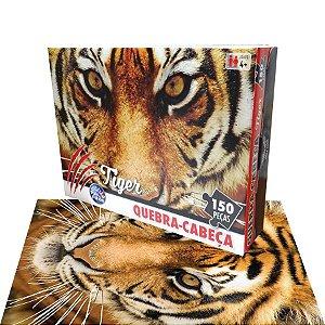 Quebra Cabeça Tiger 150 Peças - Pais e Filhos