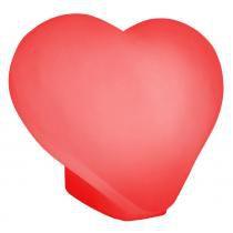Luminaria Coração Vermelho - Usare