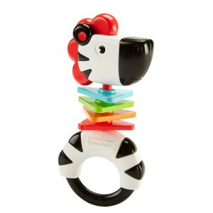 Chocalho Animais Divertidos Zebra - Fisher-Price