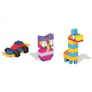 Mega Bloks Caixa De Blocos Pequena Mattel Modelo Carrinho