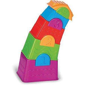 Brinquedo Didático Torre Maluca - Calesita
