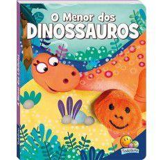 Livros Infantis - Dedinhos Agitados: Menor dos Dinossauros, O