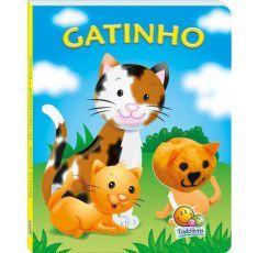 Livros Infantis - Dedinhos Agitados - Fantoche: Gatinho