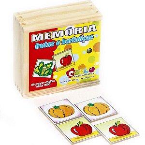 JOGO DA MEMÓRIA FRUTAS E HORTALIÇAS