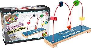 Brinquedo Educativo Aramado Acrobático Colorido