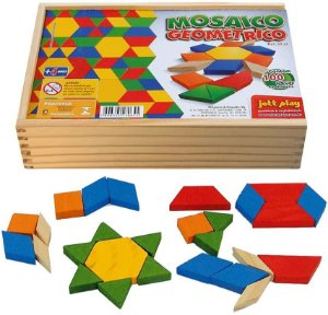 Mosaico Geometrico (2922) 100 peças