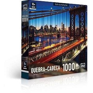 QUEBRA-CABECA CARTONADO PAISAGENS NOTURNAS 1000 PCS