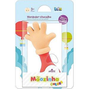 MORDEDOR INFANTIL MAOZINHA CORES C/CHOCALHO SORT