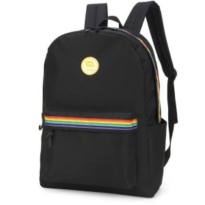 Mochila Escolar UP4YOU GD 3Bolsos Preto