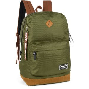 Mochila Escolar UP4YOU GD 1Bolso Verde MILITAR