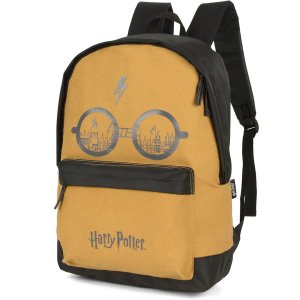 Mochila Escolar HARRY POTTER GD 1ZIPER MOSTARD