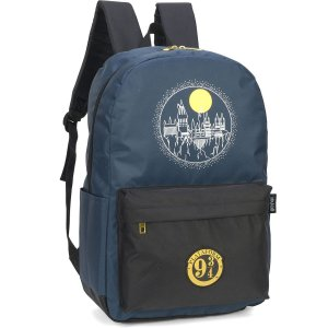 Mochila Escolar HARRY POTTER GD 1ZIPER Azul