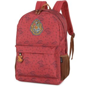 Mochila Escolar HARRY POTTER GD 3Bolsos VERMEL