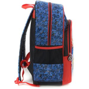 Mochila Escolar HOT WHEELS GD 3Bolsos Azul
