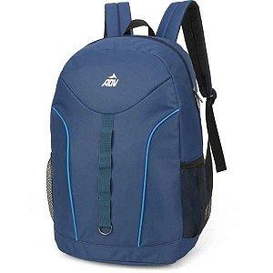 Mochila Escolar ADV GD 2Bolsos Azul