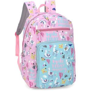 Mochila Escolar UP4YOU GD 2Bolsos PINK
