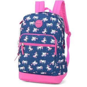 Mochila Escolar UP4YOU GD 2Bolsos Azul