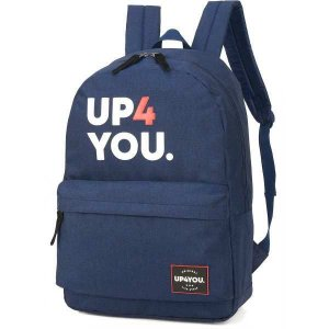 Mochila Escolar UP4YOU GD 1Bolso Azul