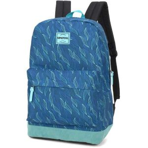 Mochila Escolar UP4YOU GD 1Bolso Azul TURQUEZA
