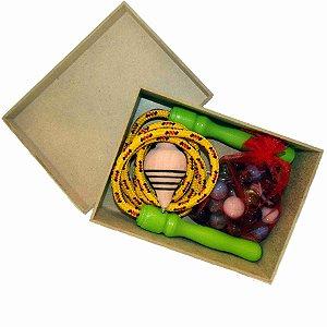 Brinquedos Kit - Corda - Bolinha e Pião - RR007001