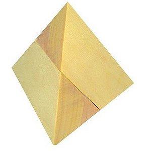 Desafio da Pirâmide  Coleção Desafios  Montar a Pirâmide de 2 peças