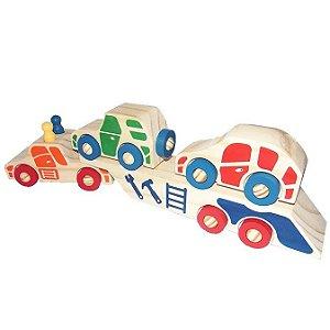 Caminhão Cegonha com 2 carrinhos - RR001011