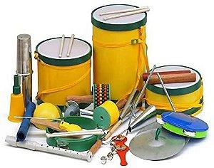 Bandinha Ritmica com 20 instrumentos
