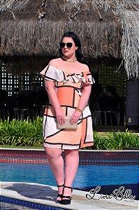 """vestido ciganinha com coleira bordada. Coleção """"LUST"""" Primavera verão 2018."""