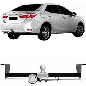 Engate de reboque rabicho Toyota Corolla 2015 a 2020
