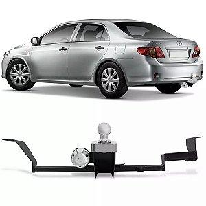 Engate de Reboque rabicho Toyota Corolla 2008 a 2014 fixação ORIGINAL