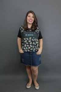 Camiseta Plus Size B Side
