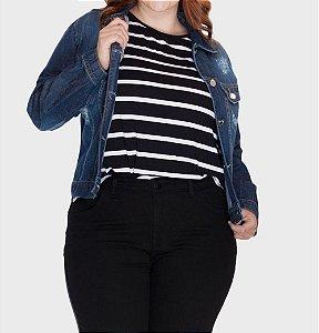 Jaqueta Jeans Plus Size (Pré-venda)