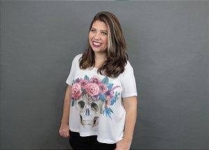 Camiseta Plus Size Caveira