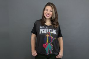 Camiseta Plus Size Toni Rock