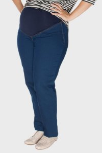 Calça Gestante New Blue Plus Size