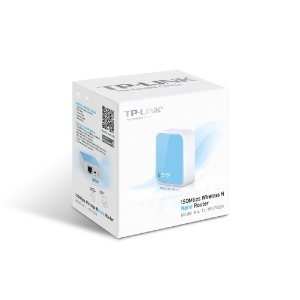 Roteador WiFi Portátil TP-Link Nano Router Wireless 150Mbps - TL-WR702N