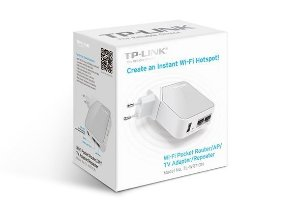 Repetidor e Roteador Wireless TP-Link TL-WR710N 150Mbps