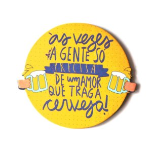 PORTA-COPO - Amor e Cerveja - und