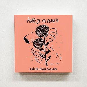 Quadro 20 x 20 cm - Plutão capa