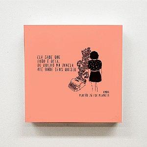 Quadro 20 x 20 cm - ANNA