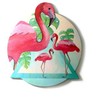 MOUSE PAD - Flamingo
