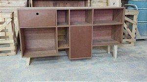 Rack para sala mdf+pallet- somente venda / consulte projetos