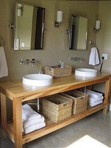 Projeto mesa para lavabo de pallet