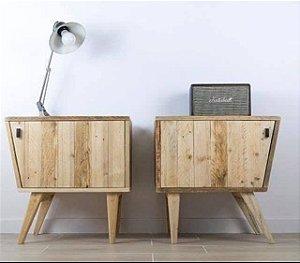 Gabinete para escritório / criado mudo de palete