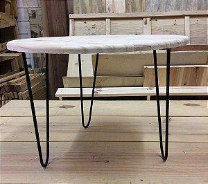 mesa lateral para apoio hairpin