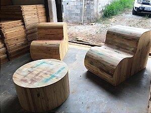 Lounge com Poltrona 4 Trealis