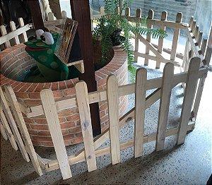 Cercado de madeira pallets cenografia pets kids